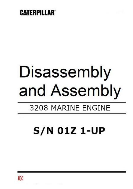 Marine 3208 Operation, Testing and Adjusting