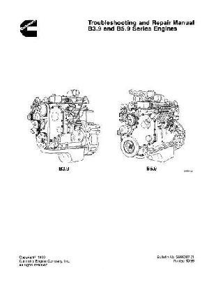 Cummins 4 and 6BT troubleshooting and repair manual p1