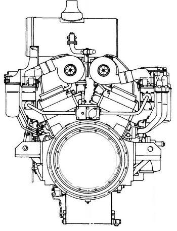 Komatsu engine Bolt Torque specs black
