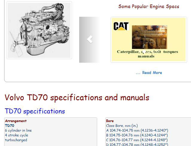 volvo  engine torque specifications  volvo reviews