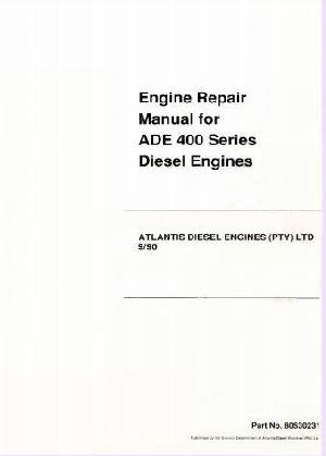 ADE OM407-409 workshop manual p1