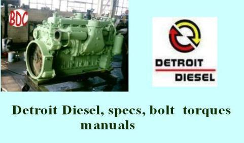 Detroit Diesel specs