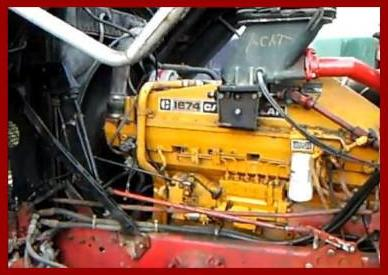 Image CAT 1674 engine