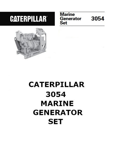 p1 of CAT 3054 Spec Sheet Collection