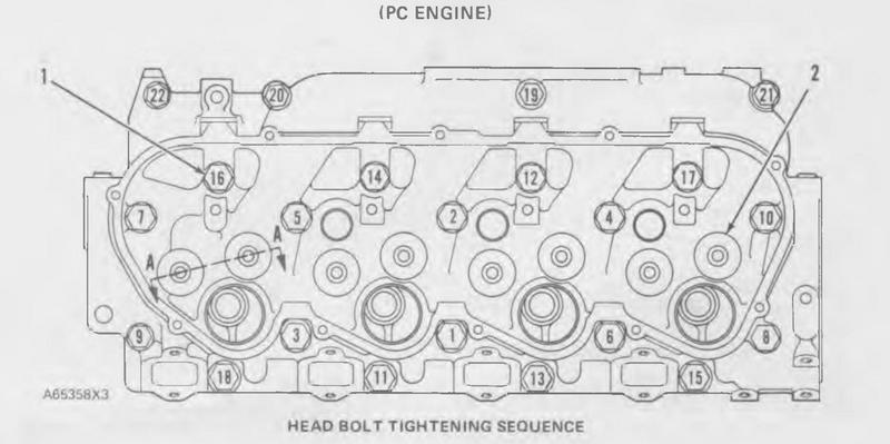 cat 3204 engine manuals and specs  image 3204 pc cylinder head 3204 pc  cylinder head