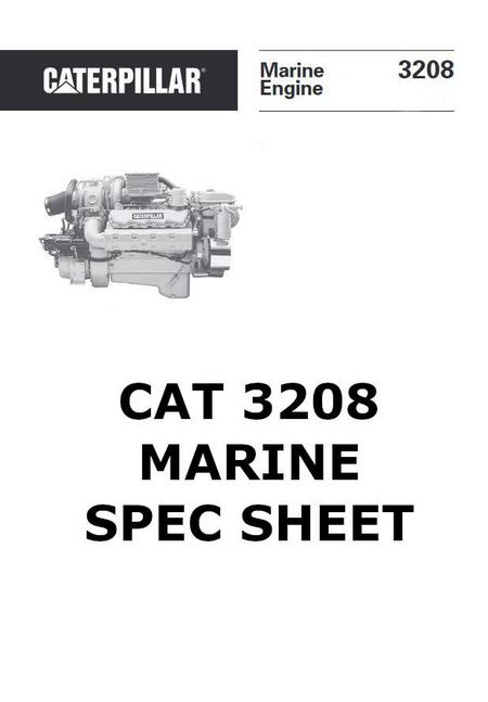 cat 3208 specs  bolt torques  manuals