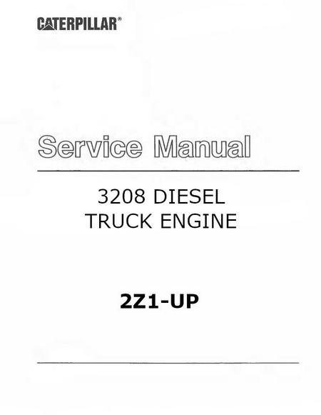 cat 3208 specs bolt torques manuals 3208 truck manual cover