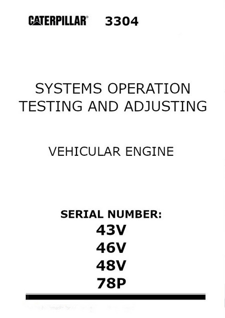 image CAT systems operation, testing and adjusting cover page