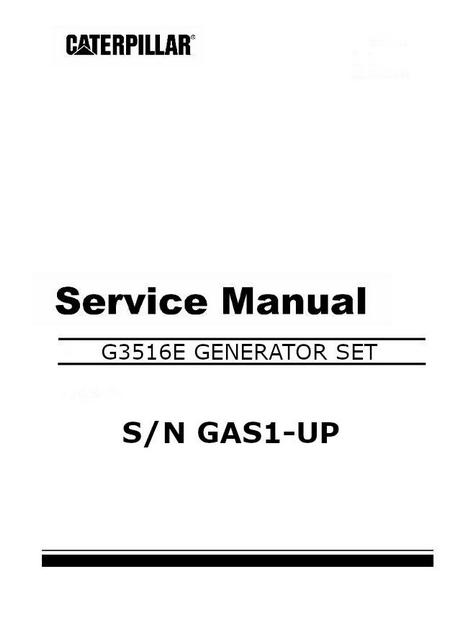 cat G3516B service manual image p1