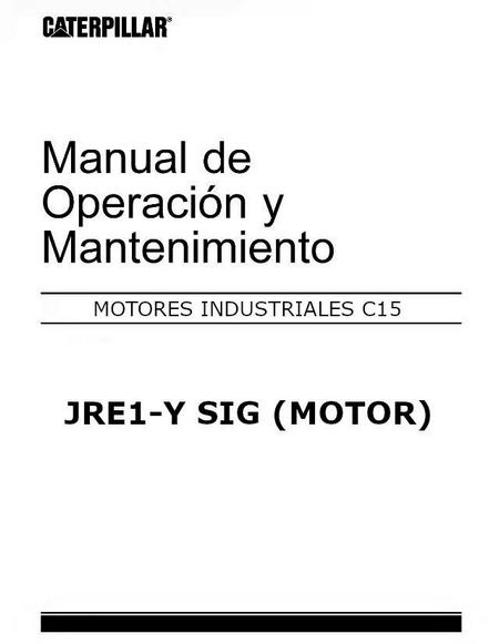 CAT C15 Manual de Operacion y Mantenimiento p1