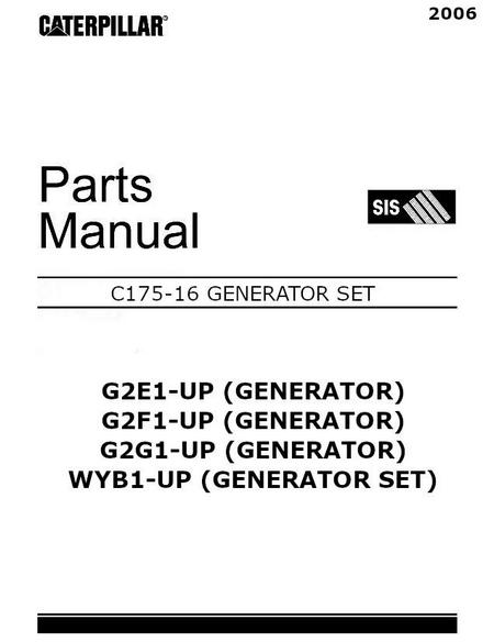 image c175 troubleshooting manual p1