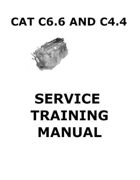 CAT C4.4 C6.6 Service Training manual p1