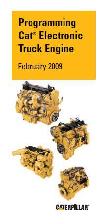 Cat electronic programming for truck engines p1