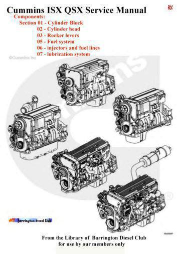 image components sections 1-7 manual