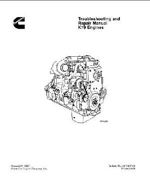 KTA19 troubleshooting and repair manual p1