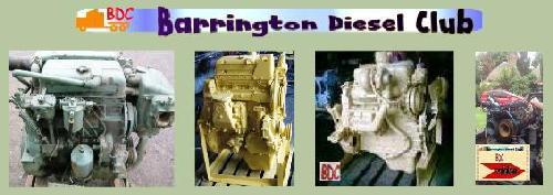 collage of Detroit Diesel 3-53 engines