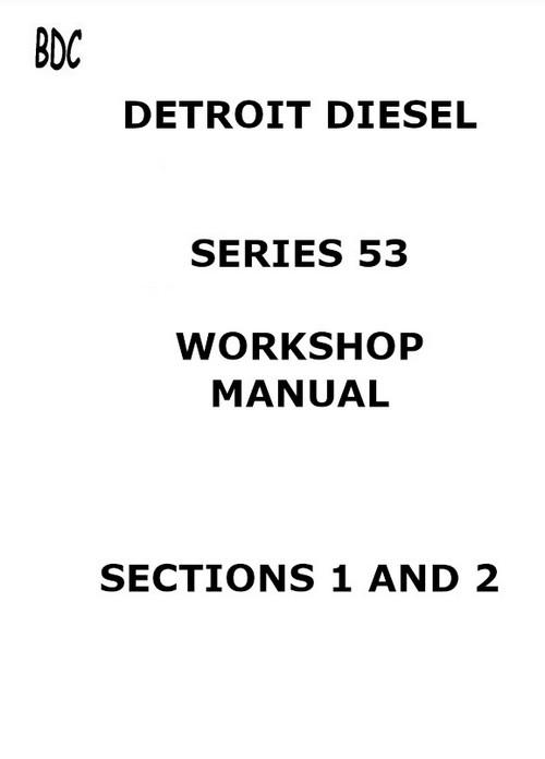 Detroit Diesel all 53 workshop manual p1