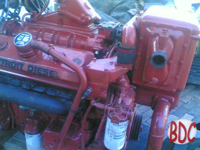 spec sheet image 8v92TA fire pump engine