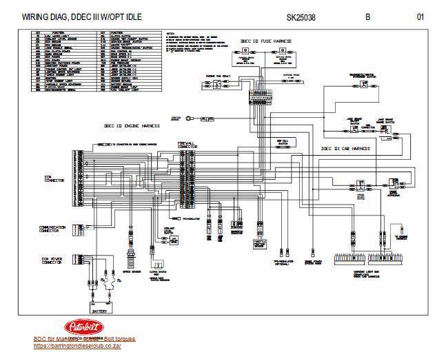 Detroit Ddec 2 Ecm Wiring Diagram