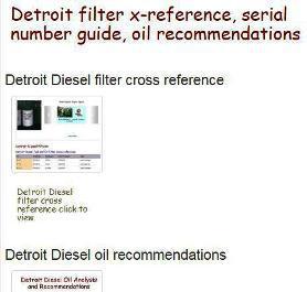 Detroit Diesel utility items snip