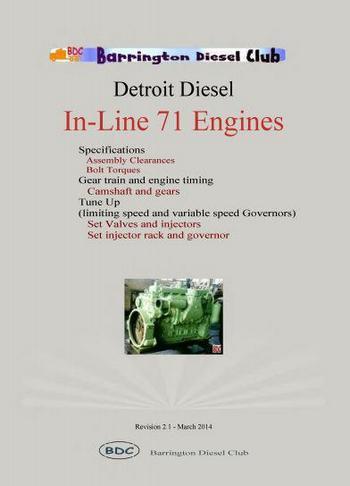 Detroit Diesel IN-71 specs booklet p1