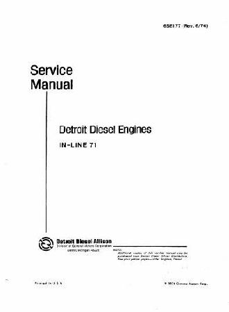 Free detroit diesel Torque manual