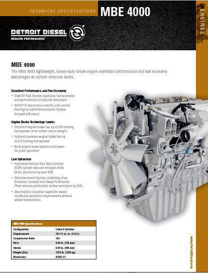 Mercedes Om460 Specs Bolt Torques And Manuals