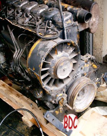 Typical Deutz 912 engine