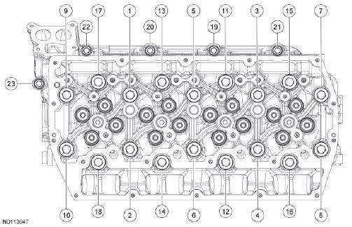 Ford F250 F550 6 7l Engine Specs Bolt Torques Manuals
