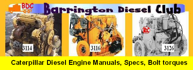 Image Colage of CAT engines