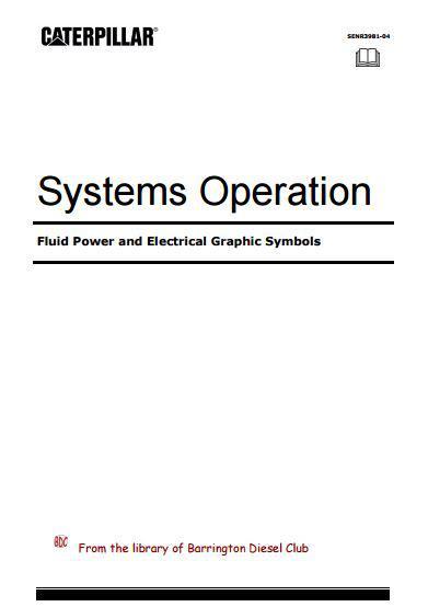 Caterpillar - Fluid Power and Electrical Symbols p1