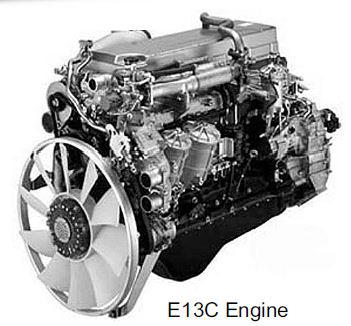 Hino E13C engine
