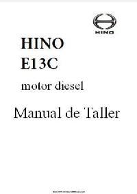 Hino E13C Manual de Taller p1