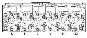 cursor c78 head torque sequence