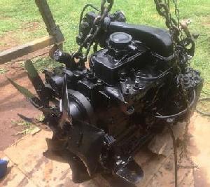 Iveco NEF engine model F4GE after restoration - 2
