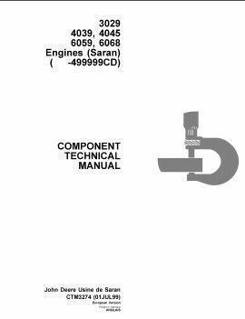 John Deere components technical manual, 300 3029 4039 4045 6059 6068