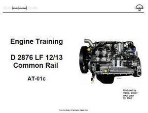 MAN D2676LF training manual p1