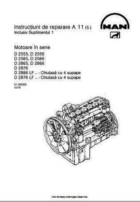 MAN D2866LF manual p1