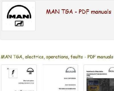 Man TGA manuals