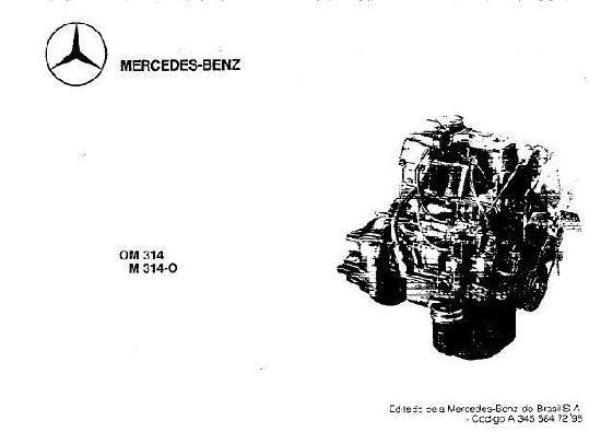 Mercedes OM314 parts illustrations manual p1