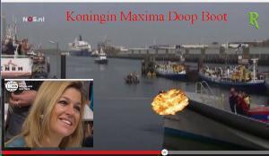 MTU 8v-2000 boat launch by Queen Maxima