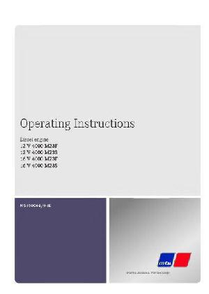 image - MTU 12v 16v4000 operating instructions p1