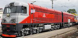 image Latvian trains with MTU 4000 series engines