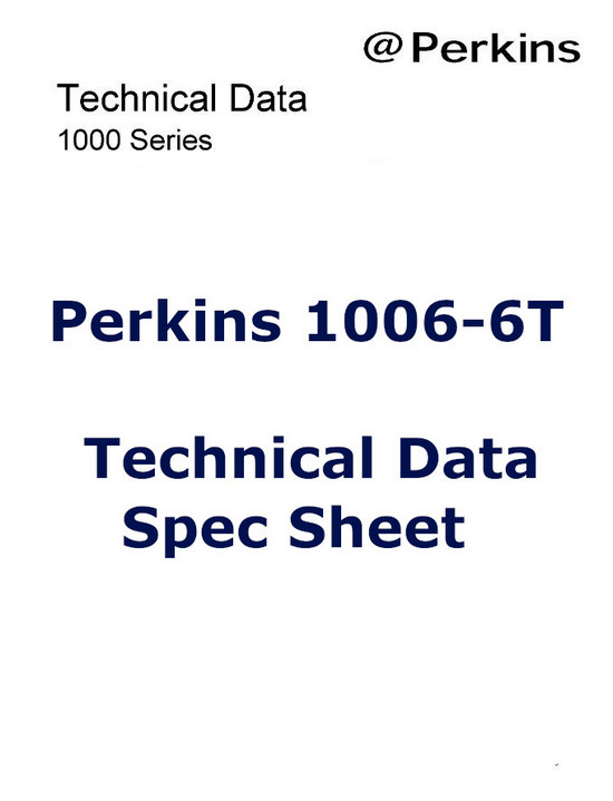Perkins 1006 spec sheet