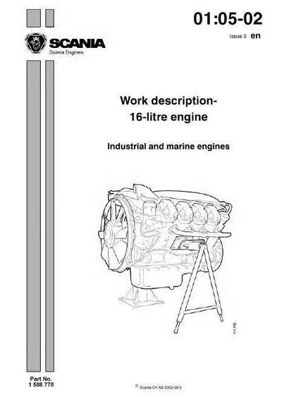 image p1 Scania DC16 English workshop manual p1