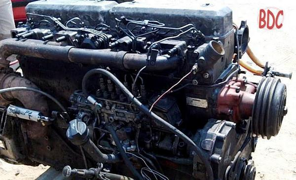 Scania DS11 - engine image