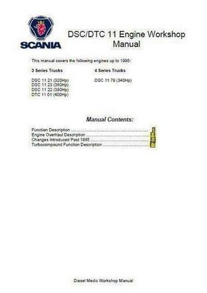 image p1 Scania DS11 English workshop manual p1
