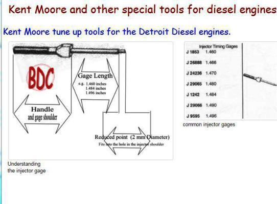 special diesel engine tools, snip