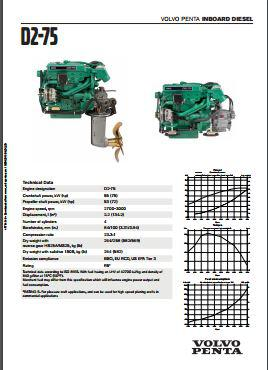 Volvo D2-75 spec sheet p1