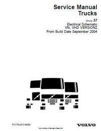 Volvo trucks Electrical Schematic VN VHD p1